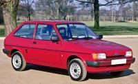 Ford Fiesta II. Вид спереди