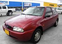 Ford Fiesta IV. Вид спереди