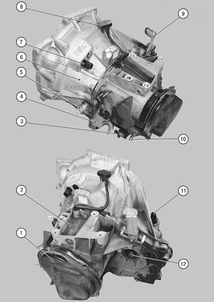 Подушки крепления двигателя