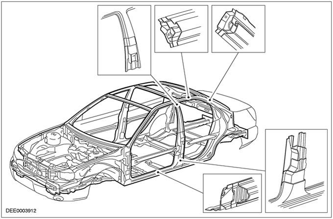 несущая часть кузова форд фокус