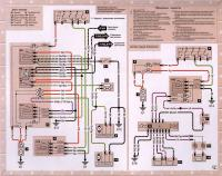 12.35 Электросхема 3: Вентилятор системы охлвждения и система подушек безопасности