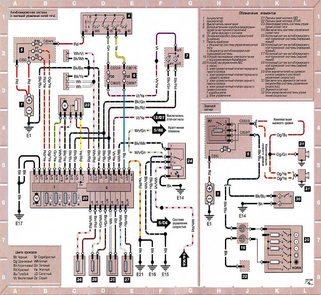 схема проводки форд мондео 4