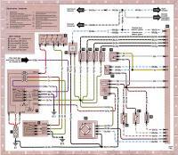 12.40 Электросхема 8: Система управления двигателем с неавтоматической трансмиссией