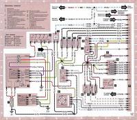 12.42 Электросхема 10: Система управления двигателем с автоматической трансмиссией (продолжение)