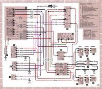 12.43 Электросхема 11: Наружные световые приборы - фары и габаритные фонари