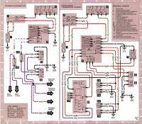 12.44 Электросхема 12: Указатели поворота, стоп-сигналы и сигнал заднего хода