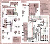 12.45 Электросхема 13: Противотуманные фары и внутреннее освещение