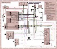 12.47 Электросхема 15: Стеклоочистители/стеклоомыватели и форсунки омывателей