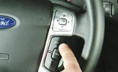форд галакси как включить круиз контроль