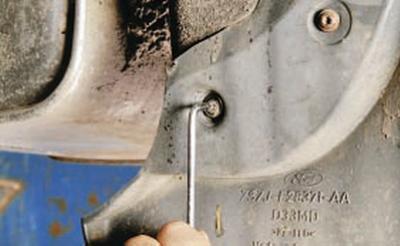 Крепление заднего брызговика форд мондео фото 780-996