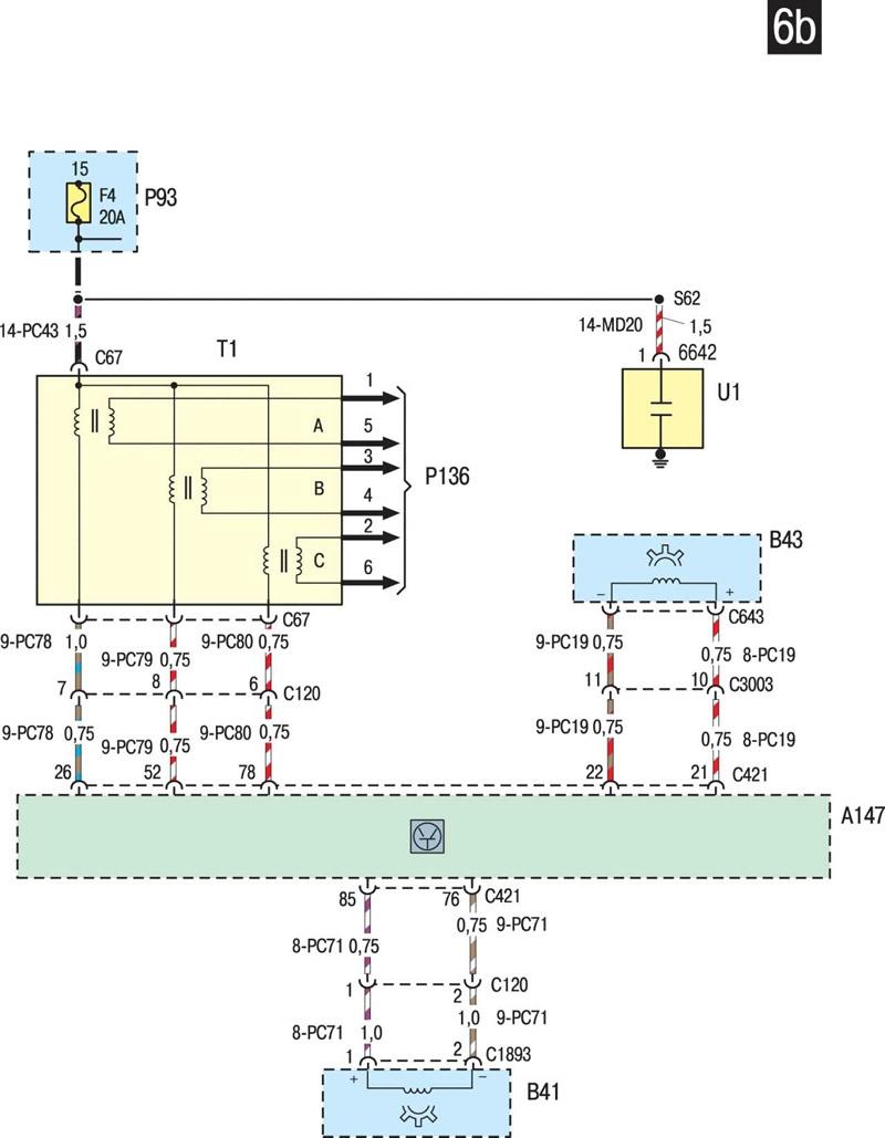 тормозная система форд мондео 1 схема