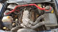 Ford Scorpio I. Моторный отсек